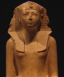 Queen/Pharaoh Hatshepsut The 1st female DualLeader!